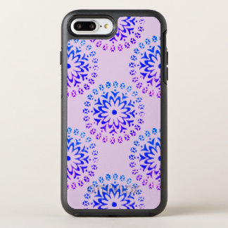 Tribal Circle Mandala Purple Ink OtterBox Symmetry iPhone 8 Plus/7 Plus Case