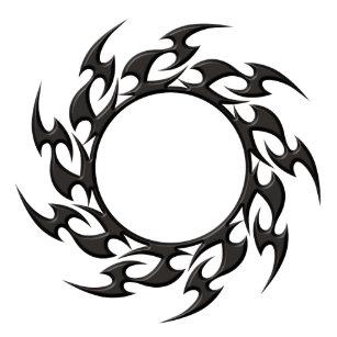 3f4fa2794 Tribal Tattoo Stickers & Labels | Zazzle UK