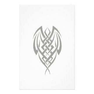 Tribal Cocoon Gothic Stationery