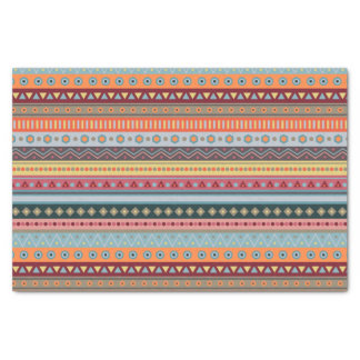 Tribal Colorful Geometric Pattern Tissue Paper