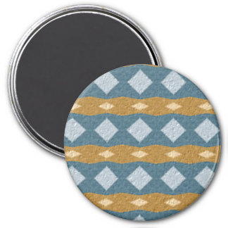 Tribal colorful pattern fridge magnets
