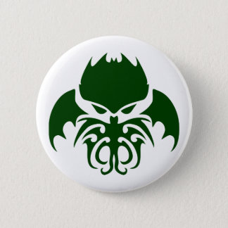 Tribal Cthulhu 6 Cm Round Badge
