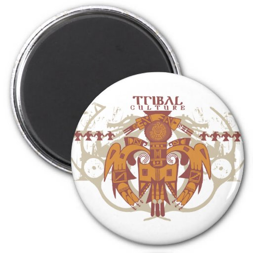 Tribal Culture Refrigerator Magnet
