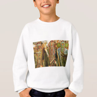 Tribal dancers from the Cameroons Sweatshirt