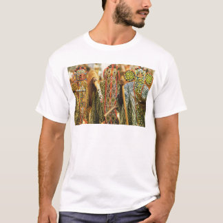 Tribal dancers from the Cameroons T-Shirt