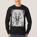 Tribal Deer Skull Tattoo Fantasy Digital Collage T-Shirt
