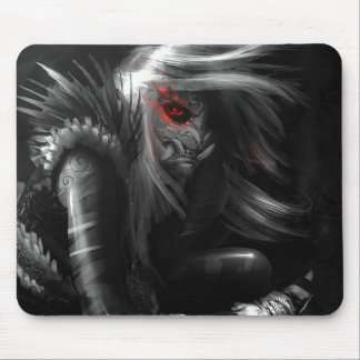 Tribal Demon Mouse Pad