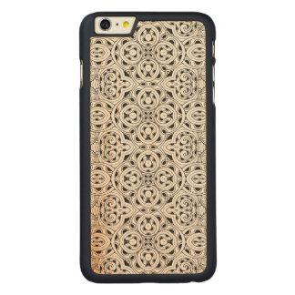 Tribal Design Carved® Maple iPhone 6 Plus Case