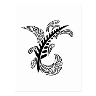 Tribal Design Postcard
