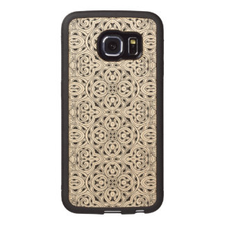 Tribal Design Wood Phone Case