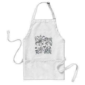 Tribal designs pattern standard apron