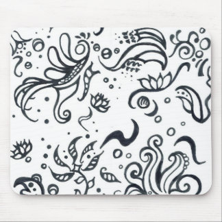 Tribal designs pattern mouse mat