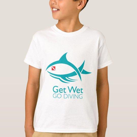 Tribal Dive Fish T-Shirt