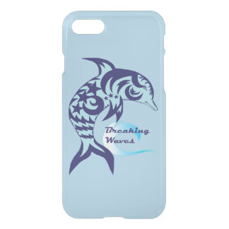 Tribal Dolphin Reflective Phone Case