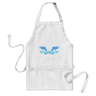 Tribal Dolphins apron - choose style