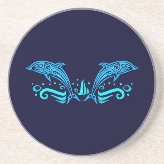 Tribal Dolphins coaster