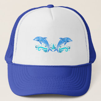 Tribal Dolphins hat