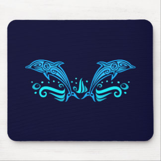 Tribal Dolphins mousepad