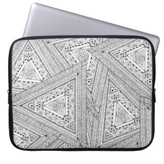 Tribal Doodle 2 Laptop Sleeve