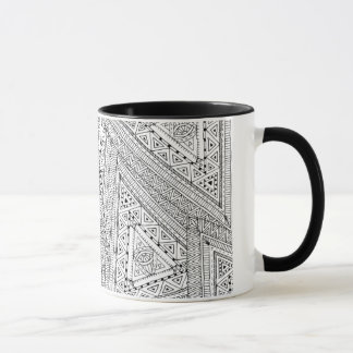 Tribal Doodle 2 Mug