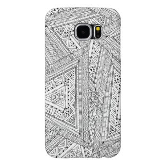 Tribal Doodle 2 Samsung Galaxy S6 Cases