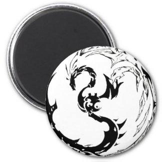 Tribal Dragon Fridge Magnet