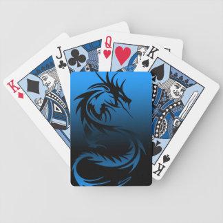 tribal dragon playing cards
