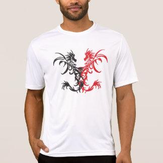 Tribal Dragons Black/Red T-Shirt
