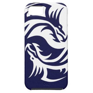 Tribal Dragons Yin Yang (Customizable) iPhone 5 Cases