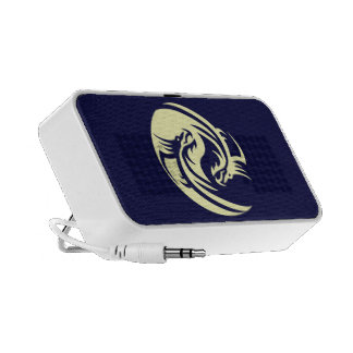 Tribal Dragons Yin Yang (Customizable) Notebook Speaker
