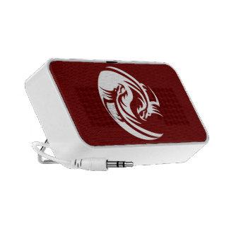 Tribal Dragons Yin Yang (Customizable) Mini Speaker
