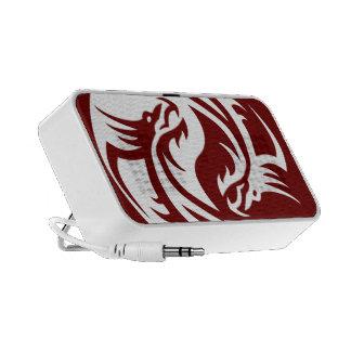 Tribal Dragons Yin Yang (Customizable) Notebook Speakers