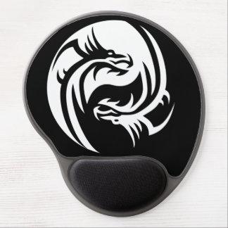 Tribal Dragons Yin Yang (Customize It!) Gel Mouse Pad