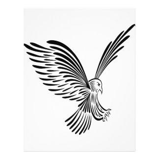 Tribal Eagle Art  #030 21.5 Cm X 28 Cm Flyer