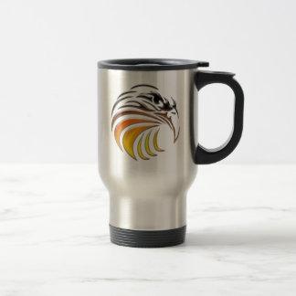 Tribal Eagle (color) Travel Mug