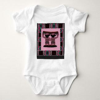 Tribal effigy - Aftrican Art Baby Bodysuit