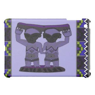 Tribal effigy - Aftrican Art iPad Mini Cover