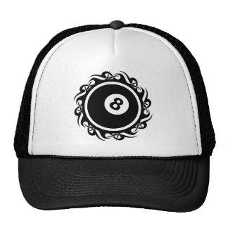 tribal eightball trucker hat
