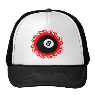 tribal eightball mesh hat