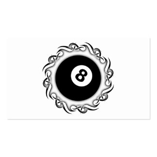 tribal eightball pack of standard business cards