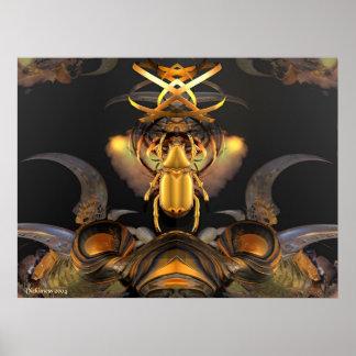 Tribal Emblem of Yargo Poster