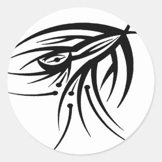 Tribal Eye Tattoo Stickers