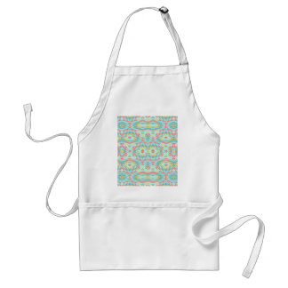 Tribal Fabric. Native American. Aztec Pattern Of Apron
