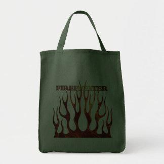 Tribal FF Flames Tote Bag