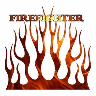 Tribal FF Flames Photo Cutout