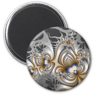 Tribal Fire 6 Cm Round Magnet