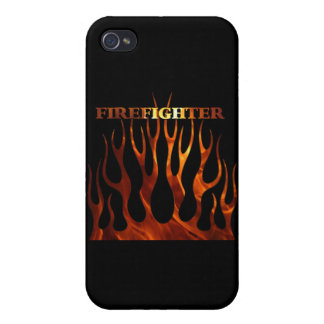 Tribal Firefighter Flames iPhone 4/4S Case