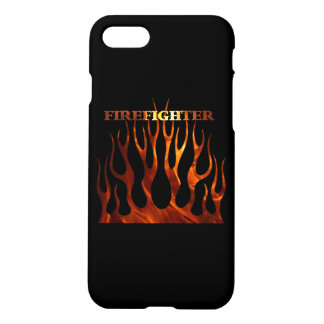Tribal Firefighter Flames iPhone 7 Case