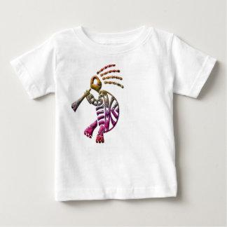 Tribal flute player infant shirt