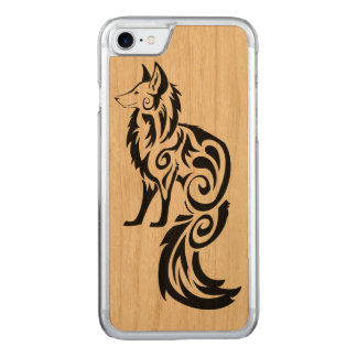 Tribal Fox Carved iPhone 8/7 Case